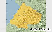 Savanna Style Map of Gai Xian