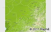 Physical 3D Map of Haicheng