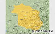Savanna Style 3D Map of Haicheng