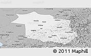 Gray Panoramic Map of Haicheng