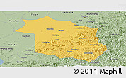 Savanna Style Panoramic Map of Haicheng