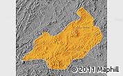 Political Map of Jianchang, desaturated