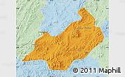 Political Map of Jianchang, lighten