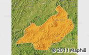 Political Map of Jianchang, satellite outside