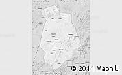 Silver Style Map of Jianping