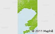 Physical 3D Map of Jin Xian