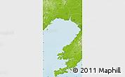 Physical Map of Jin Xian
