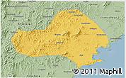 Savanna Style 3D Map of Jinxi