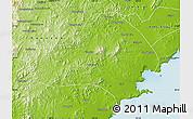 Physical Map of Jinxi