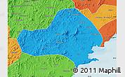 Political Map of Jinxi