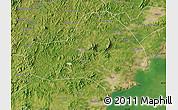 Satellite Map of Jinxi