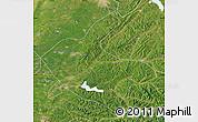 Satellite Map of Kaiyuan