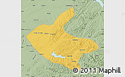 Savanna Style Map of Kaiyuan