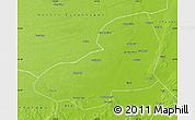 Physical Map of Kangping