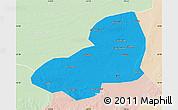 Political Map of Kangping, lighten