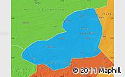 Political Map of Kangping