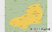 Savanna Style Map of Kangping