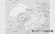 Silver Style 3D Map of Liaoyang