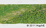Satellite Panoramic Map of Liaoyang