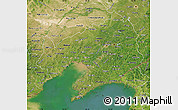 Satellite Map of Liaoning