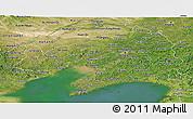 Satellite Panoramic Map of Liaoning
