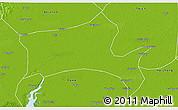 Physical 3D Map of Panshan