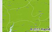 Physical Map of Panshan