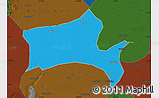 Political Map of Panshan, darken
