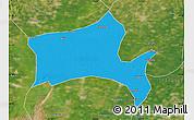 Political Map of Panshan, satellite outside