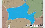Political Map of Panshan, semi-desaturated