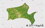 Satellite Map of Panshan, cropped outside