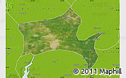 Satellite Map of Panshan, physical outside