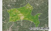 Satellite Map of Panshan, semi-desaturated