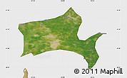 Satellite Map of Panshan, single color outside