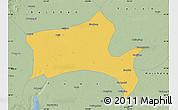 Savanna Style Map of Panshan