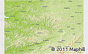 Physical 3D Map of Qingyuan
