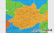Political Map of Qingyuan