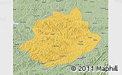 Savanna Style Map of Qingyuan