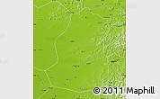 Physical Map of Shenyang Shiqu