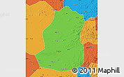 Political Map of Shenyang Shiqu