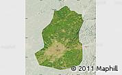 Satellite Map of Shenyang Shiqu, lighten