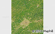 Satellite Map of Shenyang Shiqu