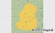 Savanna Style Map of Shenyang Shiqu