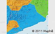 Political Map of Suizhong