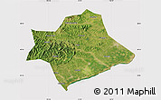 Satellite Map of Suizhong, cropped outside