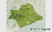 Satellite Map of Suizhong, lighten
