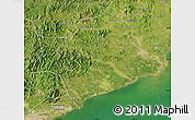 Satellite Map of Suizhong