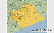 Savanna Style Map of Suizhong