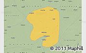 Savanna Style Map of Taian