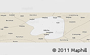 Classic Style Panoramic Map of Taian